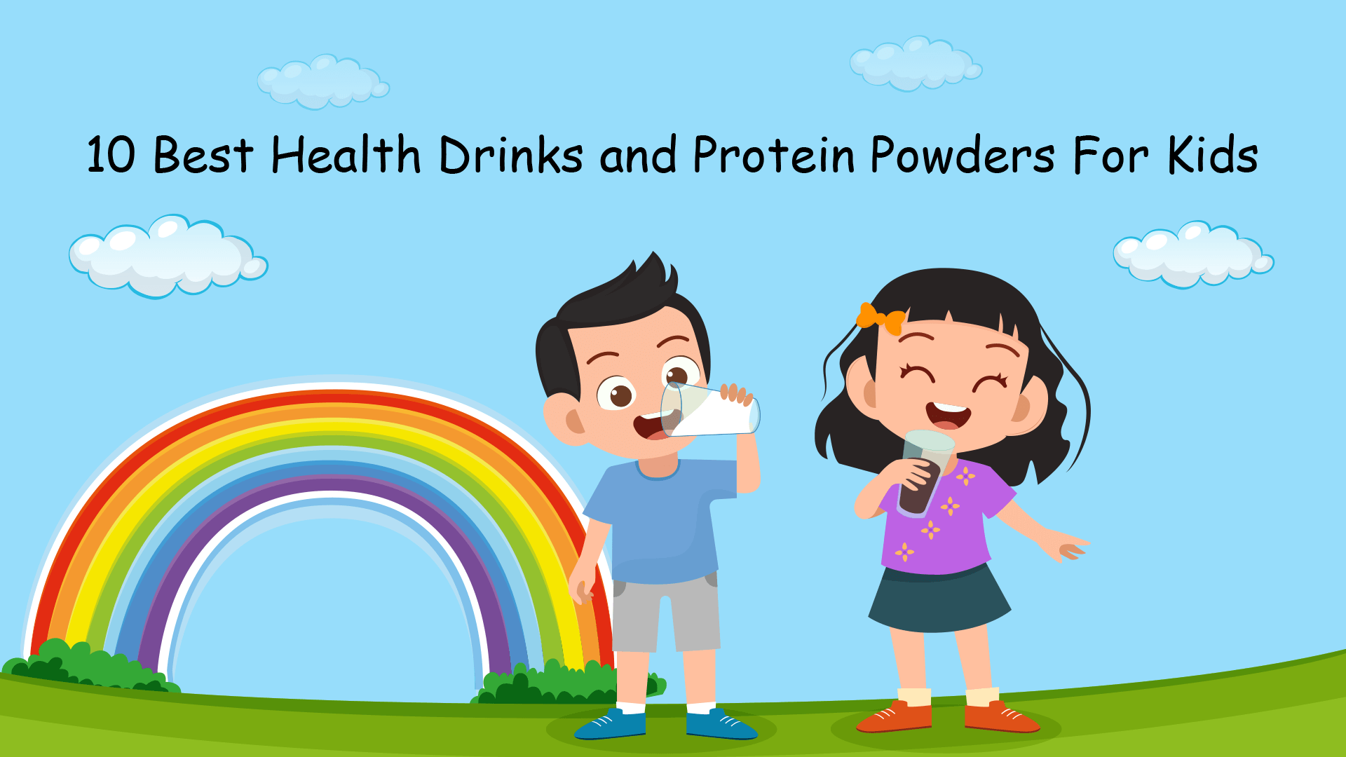 10 Best Health Drinks and Protein Powders For Kids in India