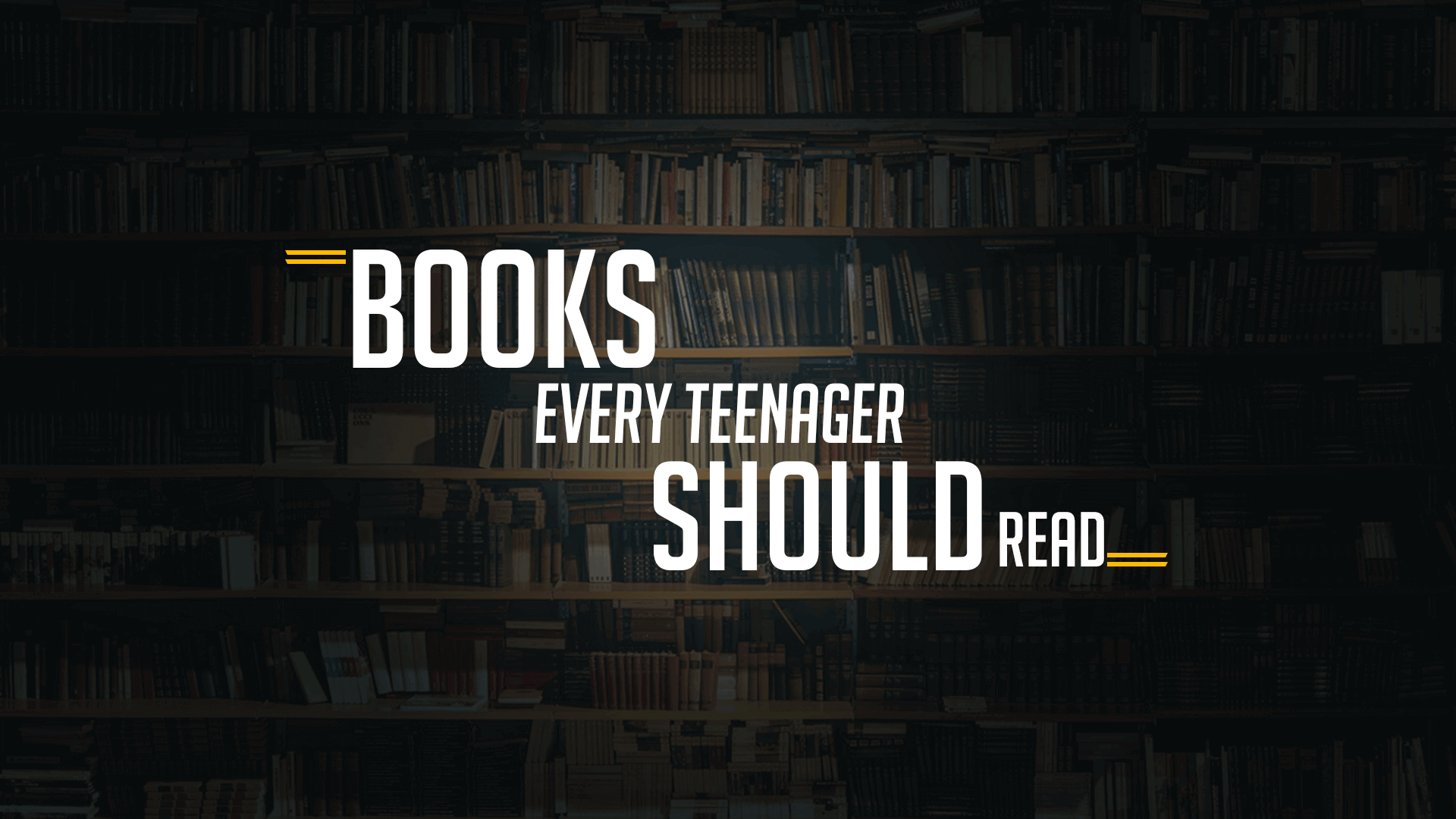 15 best books for teenagers to read